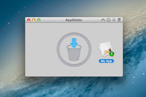 Mazání dat v Macbooku