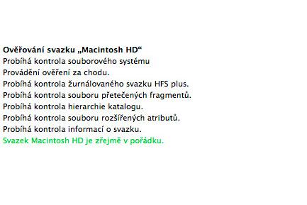 Čištení Macbooku