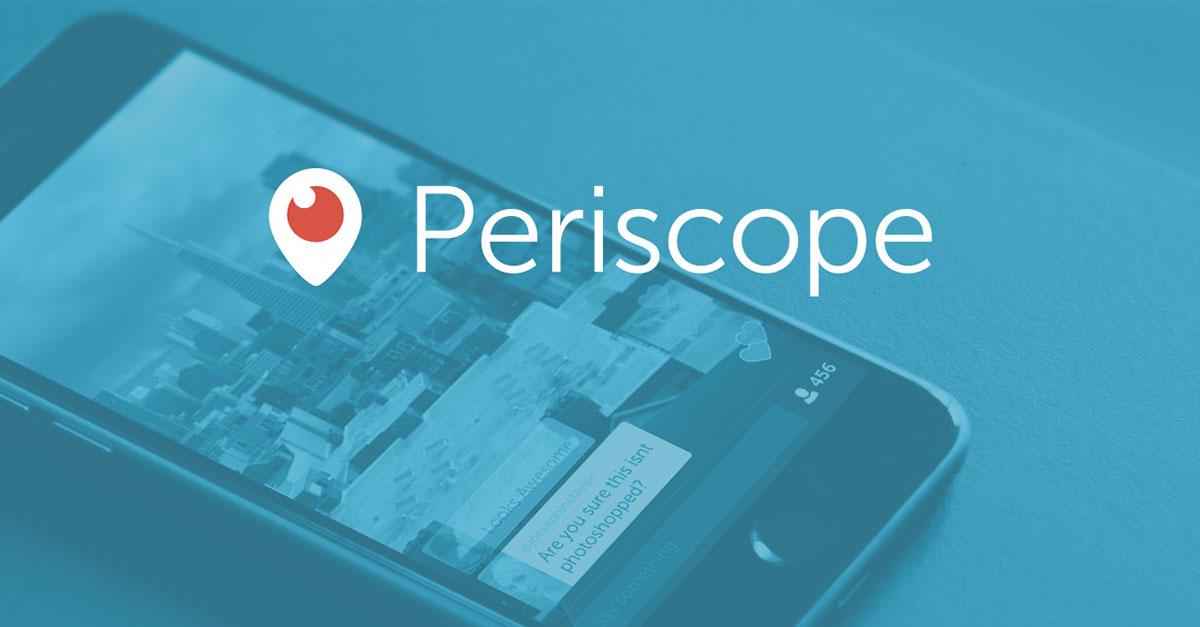 K čemu je dobrý Periscope?